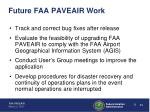 future faa paveair work
