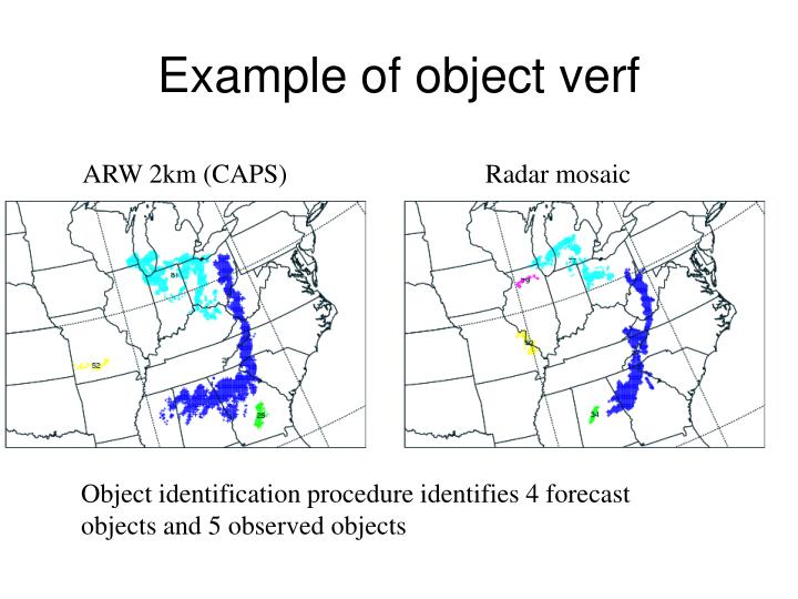 Example of object verf