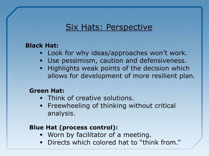 Six Hats: