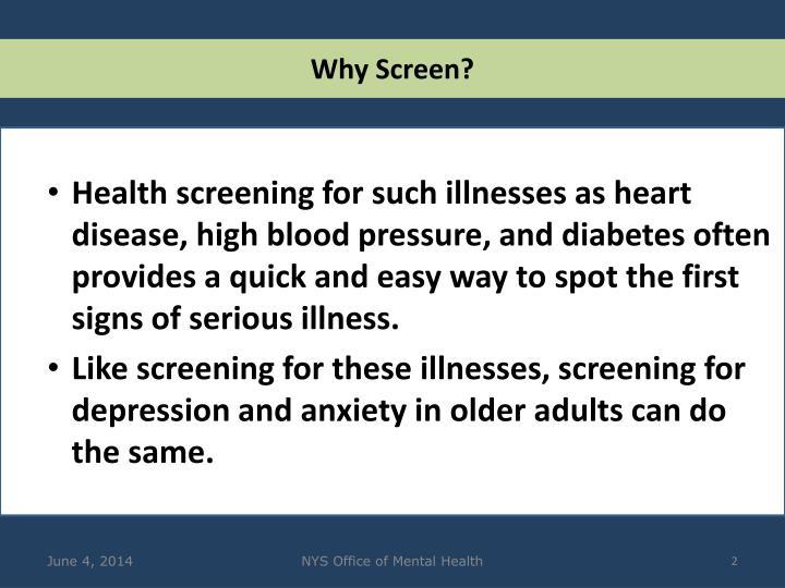 Why Screen?