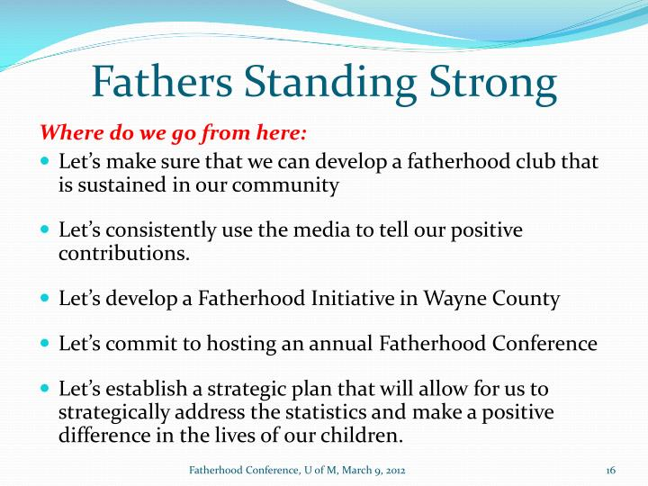 Fathers Standing Strong