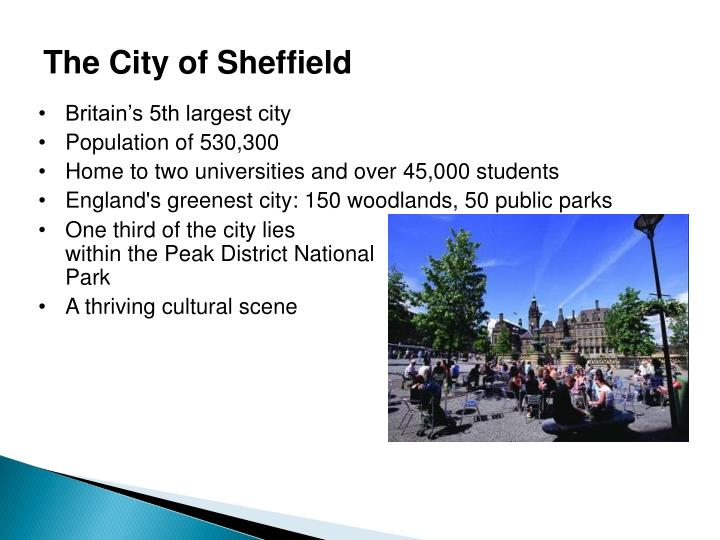 The City of Sheffield
