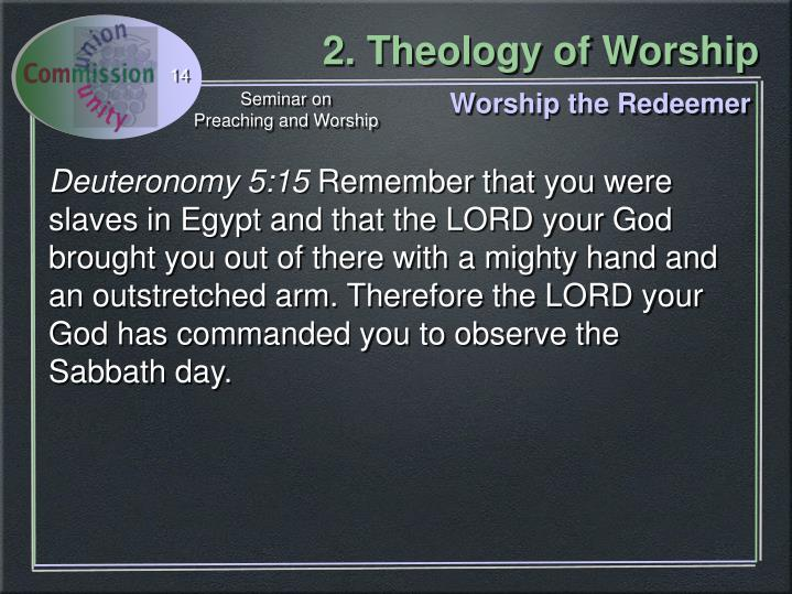 Worship the Redeemer