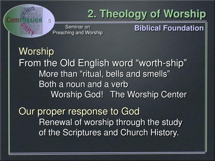 Biblical Foundation