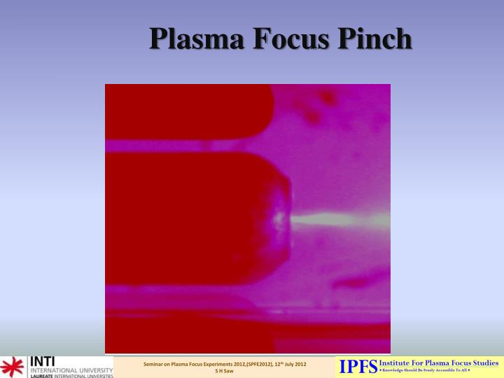 Plasma Focus Pinch
