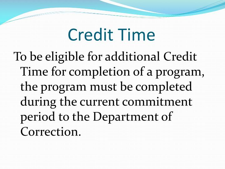Credit Time