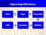 improving efficiency