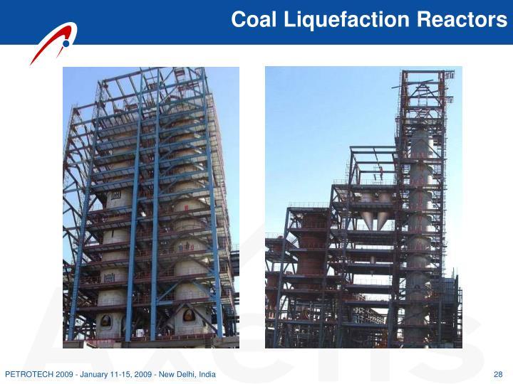Coal Liquefaction Reactors