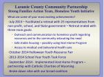 laramie county community partnership strong families action team homeless youth initiative