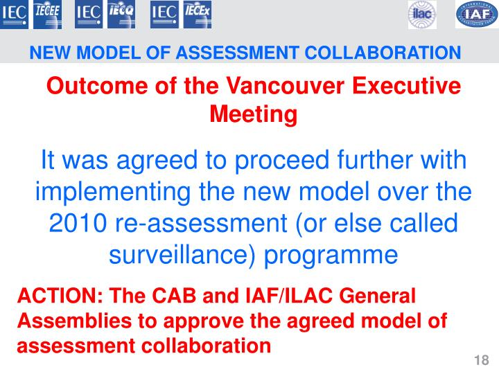 NEW MODEL OF ASSESSMENT COLLABORATION