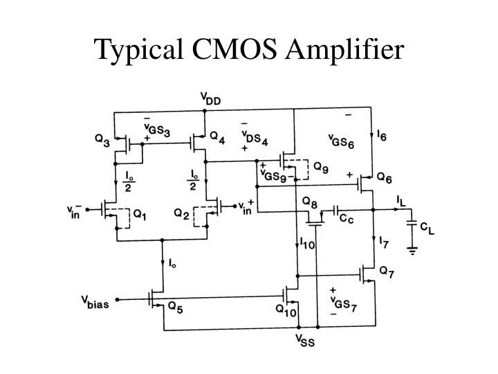 Typical cmos amplifier