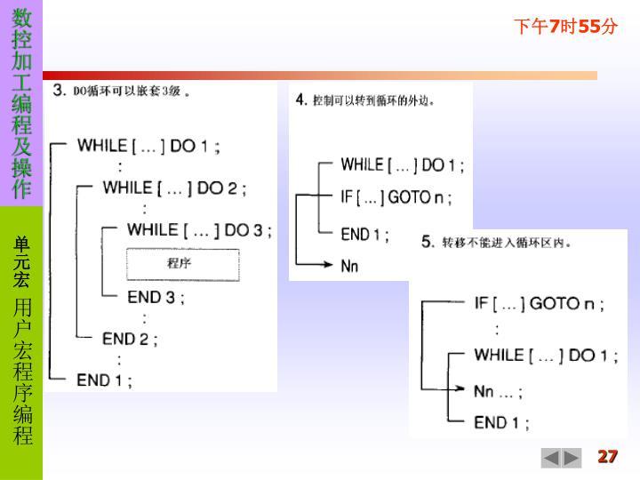 数控加工编程及操作