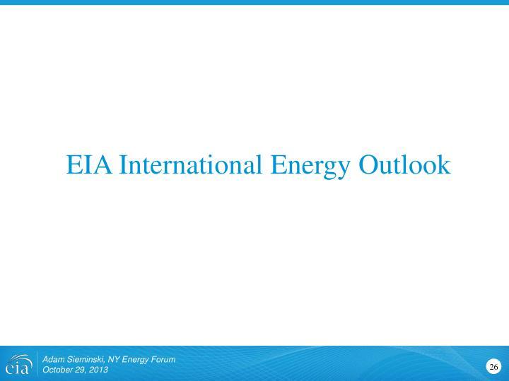 EIA International Energy Outlook
