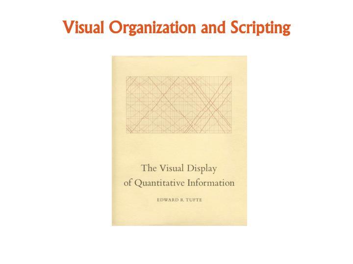 Visual Organization and Scripting