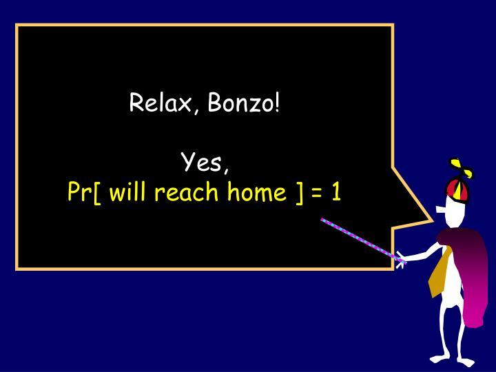 Relax, Bonzo!