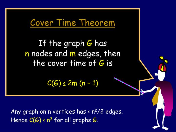 Cover Time Theorem