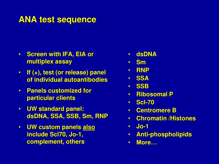 Screen with IFA, EIA or multiplex assay