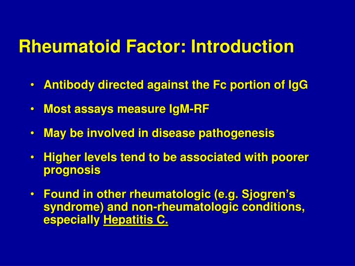 Antibody directed against the Fc portion of IgG