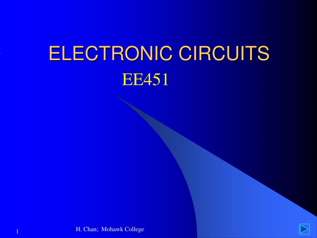 Ppt Electronic Circuits Powerpoint Presentation Id6744959 Logic Power Control Circuit For 78xx Regulator N