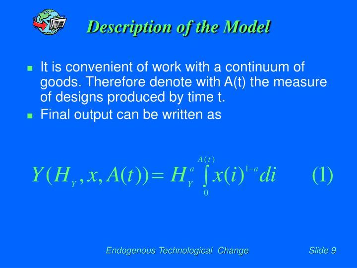 Description of the Model
