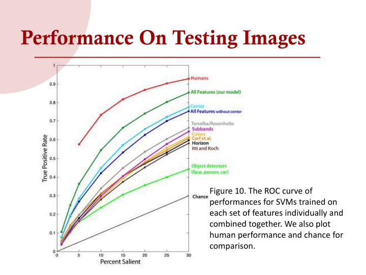 Performance On Testing Images