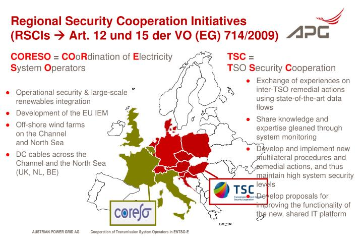 Regional Security Cooperation Initiatives