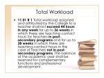 total workload