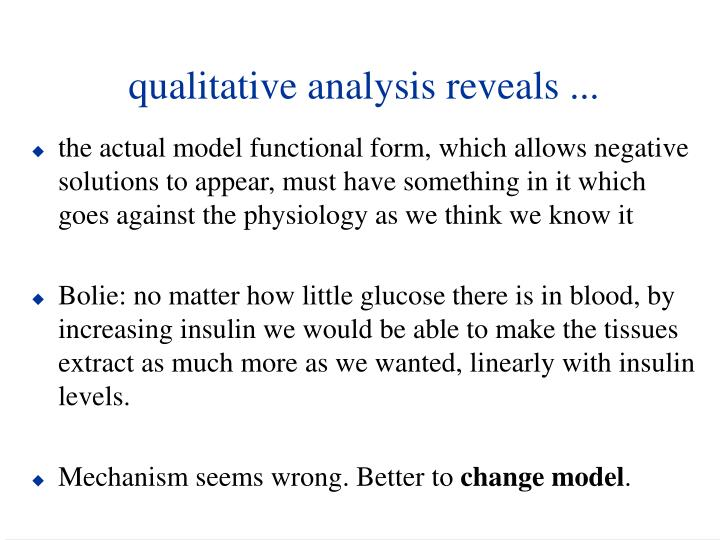 qualitative analysis reveals ...
