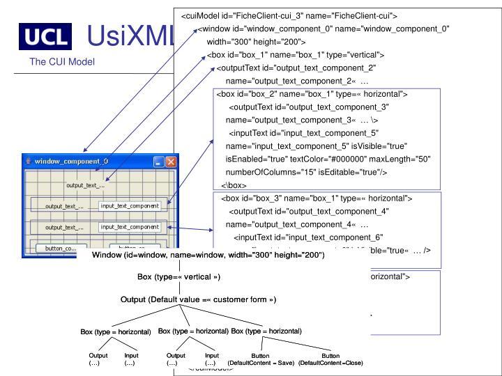 """<cuiModel id=""""FicheClient-cui_3"""" name=""""FicheClient-cui"""">"""