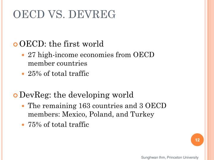 OECD VS. DEVREG
