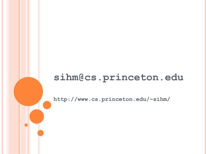 sihm@cs.princeton.edu