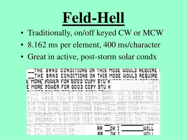 Feld-Hell