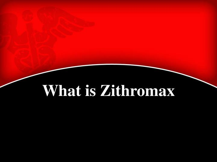 What is Zithromax