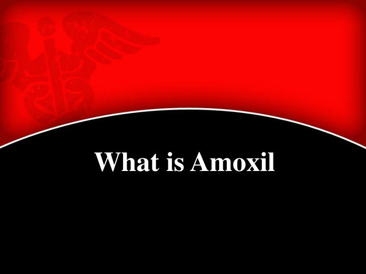 What is Amoxil