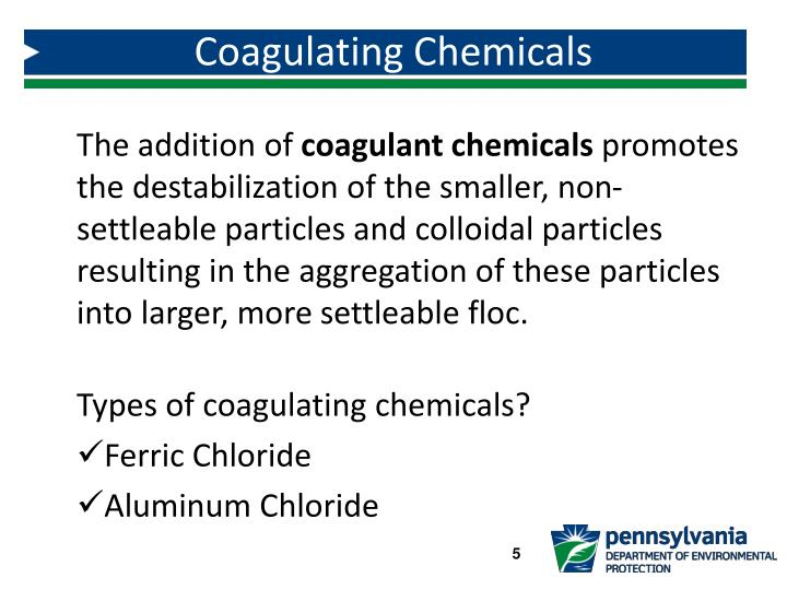 Coagulating Chemicals