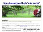 http hannonlab cshl edu fastx toolkit