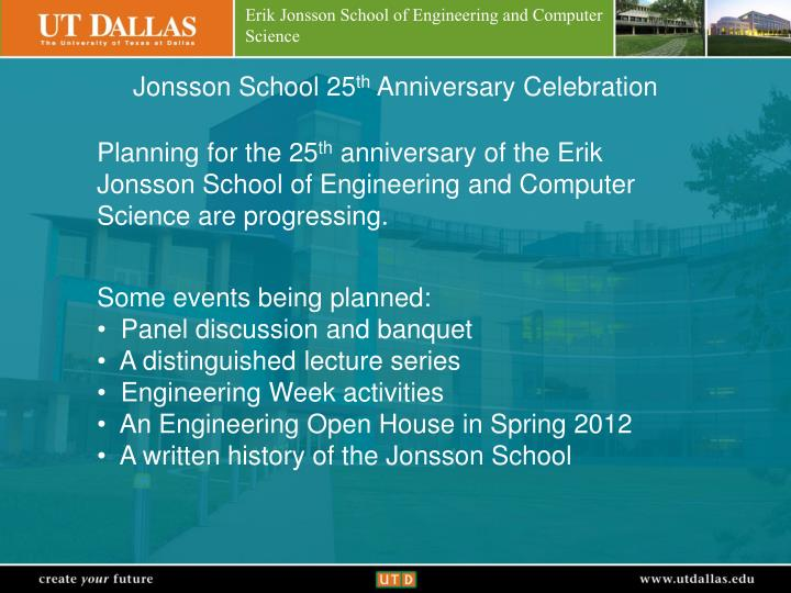 Jonsson School 25