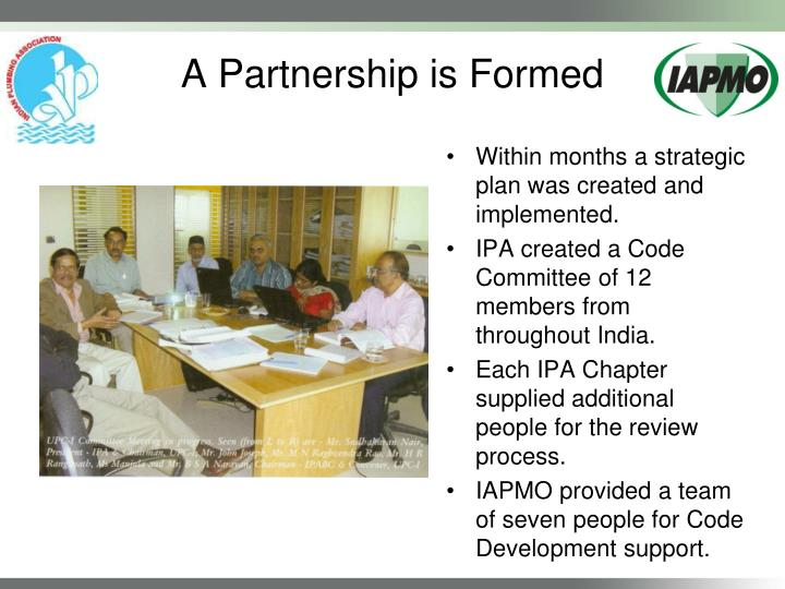 A partnership is formed