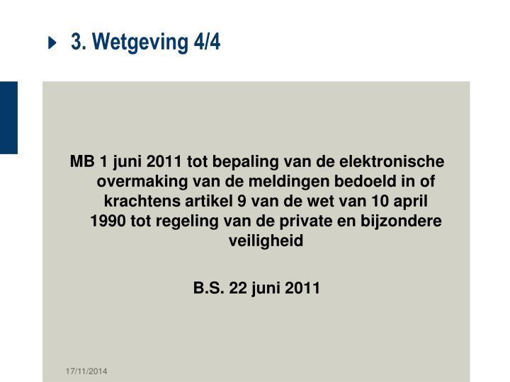 3. Wetgeving 4/4
