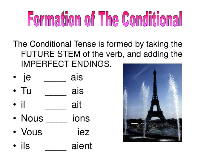 Formation of The Conditional