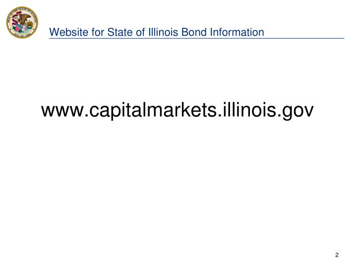 Website for state of illinois bond information