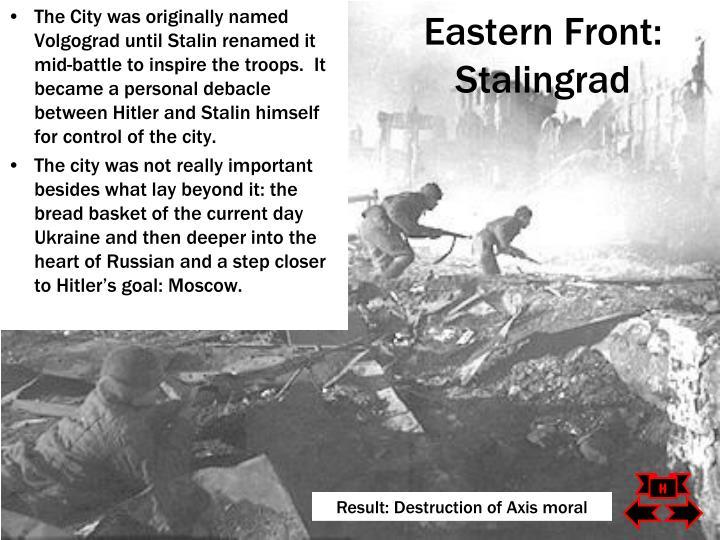 Eastern Front: Stalingrad