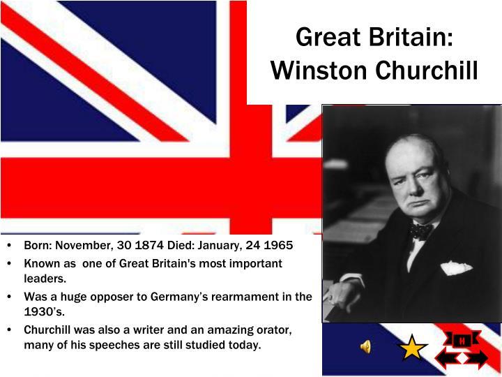 Great Britain: Winston Churchill