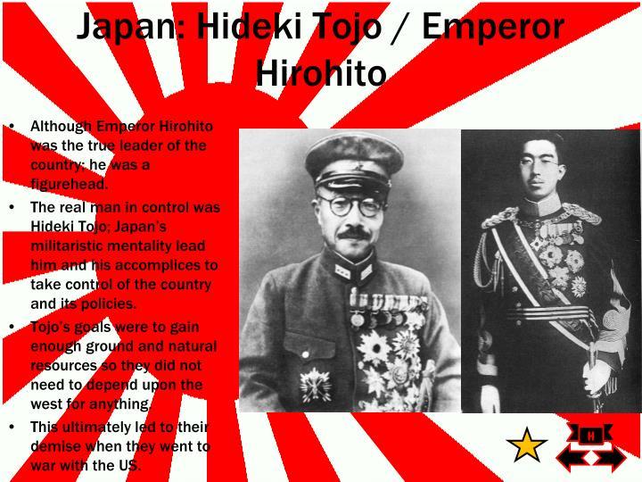 Japan: Hideki Tojo / Emperor Hirohito