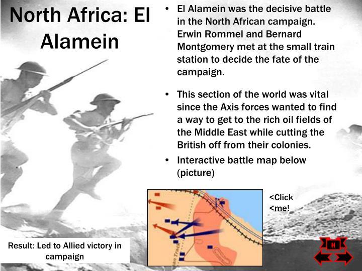 North Africa: El Alamein