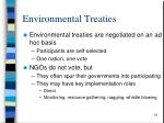 environmental treaties