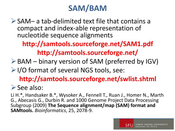 SAM/BAM