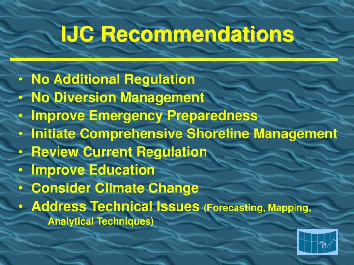 IJC Recommendations