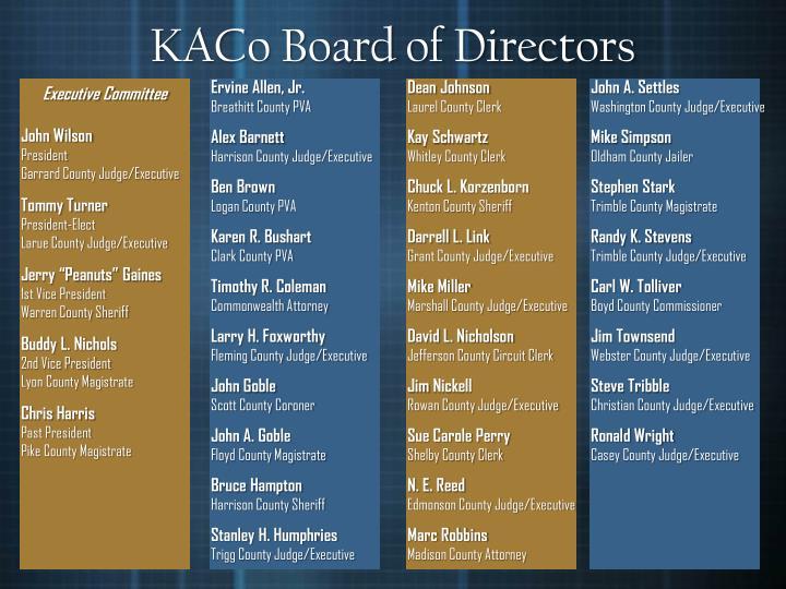 KACo Board of Directors