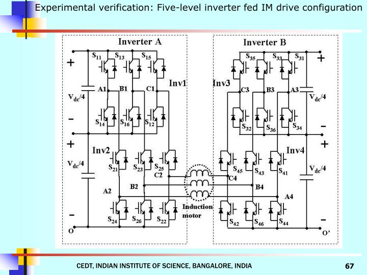 Experimental verification: Five-level inverter fed IM drive configuration